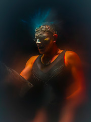 and have install'd me in the diadem (gh0stdot) Tags: lensfilter nightlife london doublerclub club stage bethnalgreen davidlynch cabaret canon 80d portrait bestviewedonamac