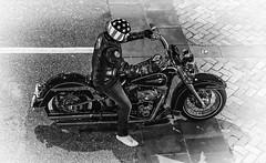 IMGP6833 Harley (Rafael Ojea) Tags: rafaelojea pentaxk1 pentax pentaxsmc pentaxart smcpentaxfa77mmlimited moto blancoynegro bw bn harleydavidson