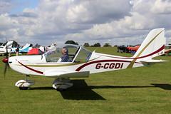 G-CGDI (GH@BHD) Tags: gcgdi evektor evektoraerotechnik ev97 ev97a eurostar teameurostar evektoraerotechnikev97teameurostaruk laarally2019 laa laarally sywellairfield sywell microlight aircraft aviation