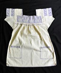 Mexican Blouse Puebla Nahua Blusa (Teyacapan) Tags: blouse mexican puebla nahua atla embroidery ropa clothing horses textiles