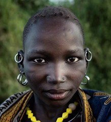 Jie Tribe (Rod Waddington) Tags: africa african afrique afrika uganda ugandan karamoja jie tribe traditional tribal portrait people culture cultural woman beads minority