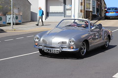 Volkswagen Karmann Ghia EHJ388H (Andrew 2.8i) Tags: run county pembrokeshire classic classics car cars auto autos voiture voitures show meet german aircooled cooled air open cabriolet convertible sports sportscar ghia karmann vw volkswagen ehj388h
