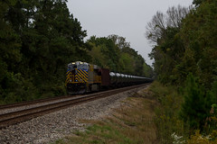 First Find at McDowell (travisnewman100) Tags: canadian national cn train railroad rr freight locomotive crex leaser es44ac ge mccomb subdivision jackson mississippi u260 ethanol unit