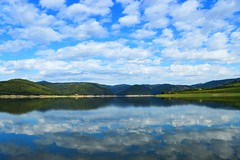 Lake (unciclamino) Tags: italy lake umbria landscape