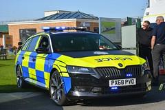 PX68 PVO (S11 AUN) Tags: cumbria constabulary skoda superb sportline 20 tdi 4x4 estate police vehicle collision investigation unit ciu van 999 emergency px68pvo
