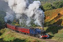 6023 King Edward II (gareth46233) Tags: 6023 gwr king edward ii thomasson foss nymr north yorkshire moors railway ledge death clag