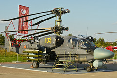 "Kamov Ka-52K Katran ""103 Yellow"" (Nils Mosberg) Tags: maks2019 zhukovsky kamovka52kkatran"