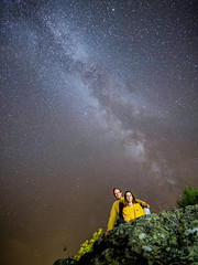 Family (SimonFRS) Tags: sky nightsky night star stars astro astrophotography fujifilm france family outside outdoor nature