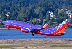 N408WN B737-7H4 cn 27895 Southwest Airlines 190903 Portland International 1004 (Kodak 260) Tags: n408wn b737 southwestairlies airliners commercial aviation portlandiap pdx nregister