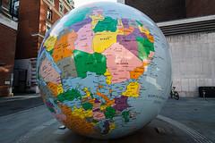 Same World, Different Planet (Sean Batten) Tags: london england unitedkingdom earth world planet nikon d800 lse city urban globe