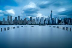Midtown Skyline (ADW44) Tags: nyc skyline skyscrapers longexposure thebigapple midtown ny newyork city buildings hudsonriver newjersey nj weehawken leefilters ndfilter