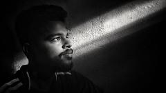 Shadows (sajinrajknilambur) Tags: shadows blackandwhite blackwhite black portrait boy keralaboy hope dream vision india people
