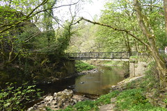 Photo of Bridge over the Etherow at Broad Mills Heritage Site in Broadbottom