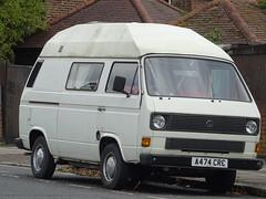 1983 Volkswagen Transporter Camper Van (Neil's classics) Tags: 1983 volkswagen transporter camper van t3 t25 vw camping motorhome autosleeper motorcaravan rv caravanette kombi mobilehome dormobile