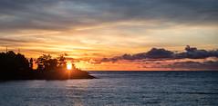September Sunrise (Rainfire Photography) Tags: autumn toronto sunrise landscape nikon scarborough bluffs lakeontario scarboroughbluffs d850