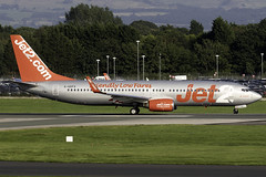 Jet2 737-800 G-GDFS at Manchester Airport MAN/EGCC (dan89876) Tags: jet2 jet2com boeing 737 b738 737800 73786n ggdfs manchester international airport line up takeoff runway 23r departure man egcc