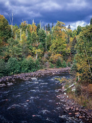 passing storm (jimmy_racoon) Tags: north shore temperance river state park iphone se fall autumn landscape minnesota nature northshore temperanceriverstatepark iphonese