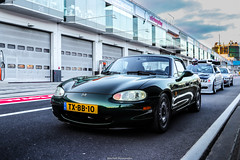 MX-5 (Mitchell Hermanides) Tags: mazda miata mx5 renault wheels hotwheels nankang ns2 rs nurburgring gptrack nordschleife pitlane pitbox lineup bmw m3 nissan skyline r33 r34 race racing session competitive track trackday tracktime timeattack time attack static convertible stanceworks