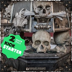 Are you excited yet?!? Get ready for our Kickstarter launch happening on Tuesday! Preview it and get notified here: https://www.kickstarter.com/projects/sedlecossuaryproject/sedlec-ossuary-150th-anniversary-commemorative-book (Or just click the link in ou (Sedlec Ossuary Project) Tags: sedlecossuaryproject sedlec ossuary project sedlecossuary kostnice kutnahora kutna hora prague czechrepublic czech republic czechia churchofbones church bones skeleton skulls humanbones human mementomori memento mori creepy travel macabre death dark historical architecture historicpreservation historic preservation landmark explore unusual mechanicalwhispers mechanical whispers instagram ifttt
