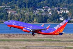 N408WN B737-7H4 cn 27895 Southwest Airlines 190903 Portland International 1003 (Kodak 260) Tags: n408wn b737 southwestairlies airliners commercial aviation portlandiap pdx nregister