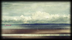 low tide vintage 2019 jpg (vanagART) Tags: lowtide nairn scotland vintageimage seaside ships clouds sky water lowcolour professionalphotography originalimage prints printsforsale wallart