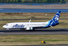 N565AS B737-890 cn 35181 Alaska Airlines 190903 Portland International 1001 (Nikon Photographer NL) Tags: n565as b737 alaskaairlines aviation airliners civil portlandiap pdx nregister