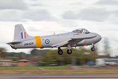 XM424/G-BWDS Hunting Percival Jet Provost T.3A (amisbk196) Tags: unitedkingdom aircraft aviation flickr northweald essex jetfest amis 2019 uk airfield xm424 gbwds hunting percival jet provost t3a