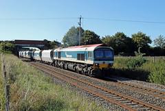 59101 Woodborough (CD Sansome) Tags: woodborough berks hants 59 mendip rail db cargo schenker train trains 59101 hanson 6l21 whatley quarry dagenham dock