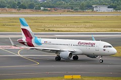 Eurowings D-AEWI Airbus A320-214 Sharklets cn/7210 @ EDDL / DUS 16-06-2017 (Nabil Molinari Photography) Tags: eurowings daewi airbus a320214 sharklets cn7210 eddl dus 16062017