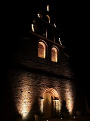 Drémil-Lafage church, in France (ti_ben) Tags: église church nuit night éclairage lighting drémillafage france style