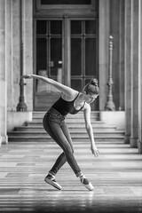 You Move (sdupimages) Tags: portrait composition ballerina model shooting nb bw noirblanc noiretblanc blackwhite danseuse dancer ballerine