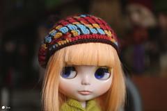 for Etsy (Echo (EchoForDolls)) Tags: doll blythe etsy echofordolls beret crochet