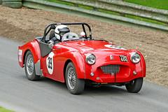 Triumph TR2 (1956) (Roger Wasley) Tags: 39 triumph tr2 toh600 1956 prescott speed hill climb gloucestershire classic car vehicle