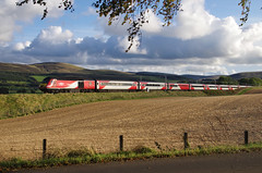 Photo of LNER HST on the WCML
