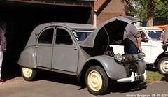 Citroën 2CV 1953 (Wouter Bregman) Tags: 399ct62 citroën 2cv 1953 citroën2cv 2pk eend geit deuche deudeuche 2cv4 ribbelkap citroretro 2019 citro retro rétro haisnes haisneslezlabassée pasdecalais 62 hautsdefrance france frankrijk carshow meeting vintage old classic french car auto automobile voiture ancienne française vehicle outdoor