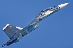"Sukhoi Su-30SM RF-81881/""77 Blue"" (Nils Mosberg) Tags: rf81881 maks2019 zhukovsky russiannavalaviation sukhoisu30smflankerh"