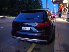 Audi Q7 - Italy, diplomatic plate (Helvetics_VS) Tags: licenseplate italy diplomaticplate un