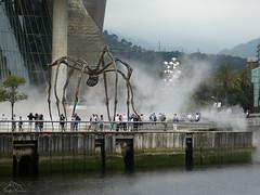 Araña-Museo-Guggenheim (puma3023) Tags: museo guggenheim araña ria agua bilbao