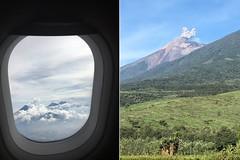 [De cima e de frente] erupção do Vulcão de Fogo (Marina Muniz Mendes) Tags: antígua guatemala vulcão volcano fogo erupção fire celular mobile