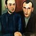 Tagarro and Waldemar da Costa Portrait (1929) - Sarah Affonso (1899-1983)
