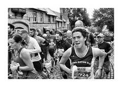 The race (PeteZab) Tags: robinhoodhalfmarathon nottingham people running sport leisure race competition determination runner blackandwhite bw mono peterzabulis