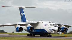Silk Way Airlines Ilyushin IL-76TD-90 4K-AZ101 East Midlands 27th September 2019. (Callum Halford) Tags: soviet russian civilian military freighter cargo rasalkhaimah omrk rkt eastmidlands egnx ema 4kaz101 il76 il76td90 il76td ilyushinil76td90 ilyushinil76td ilyushinil76 ilyushin silkline zp azq silkwayairlines silkway