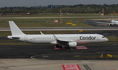 Condor D-ATCF Airbus A321-211 flight DE14428 departure from Dusseldorf  DUS Germany bound for Tenerife (TFS) (Cupertino 707) Tags: condor datcf airbus a321211 flight de14428 departure from dusseldorf dus germany bound for tenerife tfs