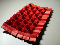 Tessellation experiment (ISO_rigami) Tags: origami tessellation