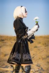 _MG_1498 (Mauro Petrolati) Tags: sara nox blade noxblade cosplay cosplayer set desert map nierautomata nier automata 2b android