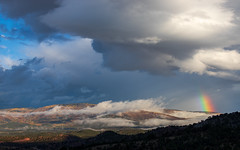October 1, 2018 morning (rigpa8) Tags: landscape clouds storm rainbow nature mountains october fall fog ngysaex