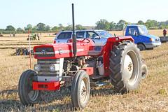 Massey Ferguson 148 Tractor & Plough (SR Photos Torksey) Tags: tractor vintage classic ploughing match farming collingham show 2019 massey ferguson 148