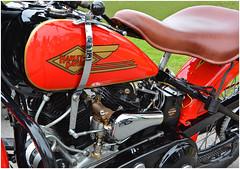 1934 Harley-Davidson VLD.  Clarion, PA (bobchesarek) Tags: 1934harleyvld harleydavidson harley flathead45 motorcycle harleymotorcycle