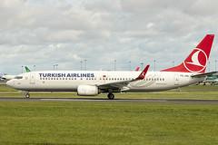 TC-JVL   Turkish Airlines   Boeing B737-8F2(WL)   CN 60017   Built 2016   DUB/EIDW 31/08/2019 (Mick Planespotter) Tags: aircraft airport 2019 dublinairport collinstown nik sharpenerpro3 aviation avgeek spotter plane planespotter airplane aeroplane tcjvl turkish airlines boeing b7378f2wl 60017 2016 dub eidw 31082019 b737