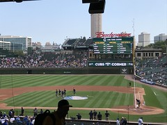 "Wrigley Field • <a style=""font-size:0.8em;"" href=""http://www.flickr.com/photos/109120354@N07/48817043466/"" target=""_blank"">View on Flickr</a>"